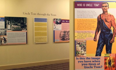 Who is Uncle Tom, exhibition design